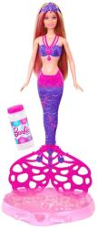 Mattel Barbie: Bubble-tastic Mermaid - Sirena Barbie si baloanele de sapun (CFF49) Papusa Barbie