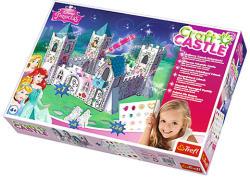 Trefl Disney hercegnők papír kastély