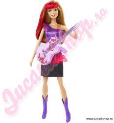 Mattel Barbie in Rock 'N Royals - Ryana cu chitara (CKB63)