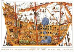 Heye Loup: Arche Noah - Noé bárkája 2000 db-os