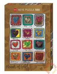 Heye Hearts of Gold: Year of love 500 db-os (29706)