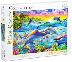 Clementoni Trópusi delfinek 500 db-os (30170)