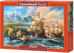Castorland Kaland az új világba 1500 db-os (C-151349)