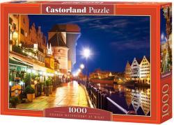 Castorland Gdansk vízpartja éjjel 1000 db-os (C-103379)