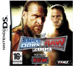 THQ WWE SmackDown vs Raw 2009 (Nintendo DS)