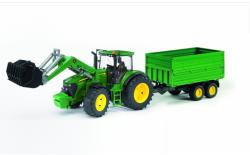 BRUDER Tractor John Deere 7930 cu incarcator frontal (3055)