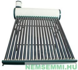 NEW ENERGY Tartályos napkollektor - 20 csöves 200 liter - hálózatra köthető a kiegészítő tartállyal ( Jakab szelep ) nem nyomásálló napkollektor (SD-GT-20)