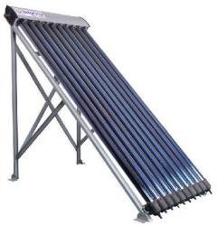 NEW ENERGY 10 csöves kék vákuumcsöves napkollektor Heat-Pipe betét Szolár kollektor 10 db vákuumcső Napenergia hasznosítás 6 év garancia! (VAKUUMCSOVES_NAPKOLLEKTOR_SC-H-10)