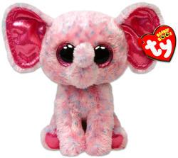TY Inc Beanie Boos - Ellie, a rózsaszín foltos elefánt 15cm (TY36728)