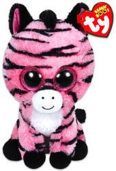 TY Inc Beanie Boos - Zoey, a pink zebra 15cm (TY36147)