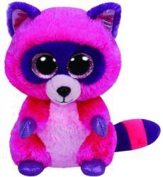 TY Inc Beanie Boos - Roxie, a pink mosómedve 24cm (TY37043)