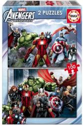 Educa Avengers: Bosszúállók 2x100 db-os