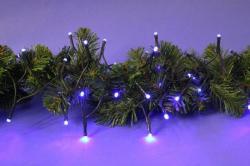 DekorTrend 6.4m-es, 80 LED-es fényfüzér - kék (KDL 083)