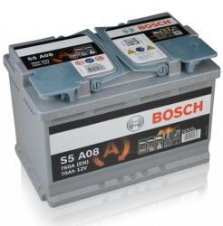 Bosch S5 A08 AGM 70Ah 760A Jobb+