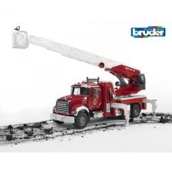 BRUDER Masina de pompieri cu pompa apa MACK Granite (2821)