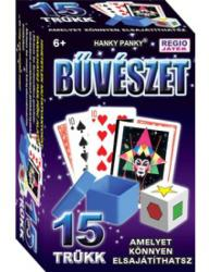 Hanky Panky Magic Show bűvészdoboz - 15 trükk - Röntgenszemek