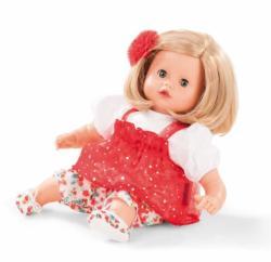 Götz Muffin baba csillogós tüllben, szőke hajú, kék szemű (2015) - 33 cm