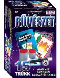 Hanky Panky Magic Show bűvészdoboz - 15 trükk - Gondolatolvasás