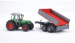 BRUDER Tractor Fendt 209S cu remorca (2104)