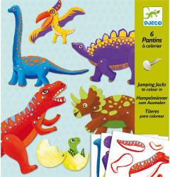 DJECO Mozgatható figurák - Dinoszauruszok