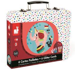 Janod Cirkusz kreatív szett bőröndben