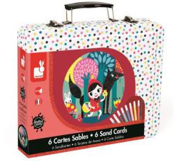 Janod Mesés homokkép készítő szett bőröndben (J07765)