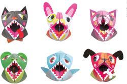 Janod Állatos origami készlet (07759)