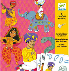 DJECO Mozgatható figurák - India