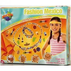 LENA Gyöngyfűző szett - Mexikói divat (42402)