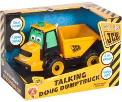 Golden Bear Toys Primul meu JCB - Tractor de gunoi Doug cu sunete (GD3913)
