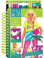 Style Me Up! Hétköznapi viselet divattervező füzet