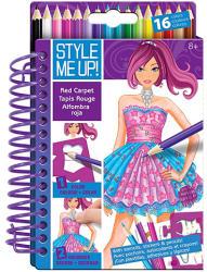 Style Me Up! Vörös szőnyeg divattervező füzet