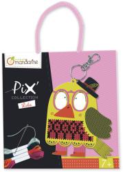 Avenue Mandarine Pix keresztszemes hímző készlet - Lulu kulcstartó