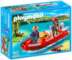 Playmobil Wild Life - Orvvadász csónak (5559)