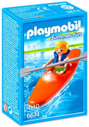 Playmobil Summer Fun - Gyermek kajak (6674)
