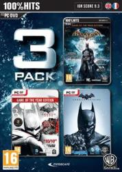 Warner Bros. Interactive Batman Arkham 3 Pack: Origins + City + Asylum (PC)