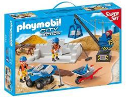Playmobil City Action - SuperSet: Építkezés (6144)
