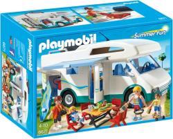 Playmobil Summer Fun - Családi lakóautó (6671)