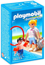 Playmobil Summer Fun - Úszómester lány (6677)