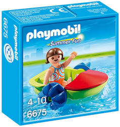 Playmobil Summer Fun - Gyermek vizibicikli (6675)