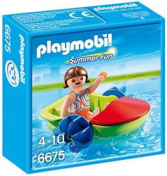 Playmobil Summer Fun - Gyermek vizibicikli (6675)