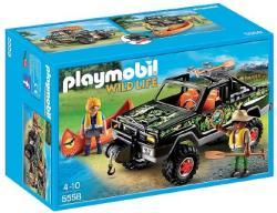 Playmobil Wild Life - Kalandorok terepjárója (5558)