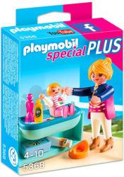 Playmobil Special Plus - Anya és gyermeke a pelenkázóasztalnál (5368)