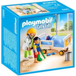 Playmobil City Life - Gyermekorvos a betegágynál (6661)