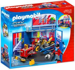 Playmobil City Action - Motorműhely ládikám kulcsocskával (6157)