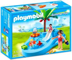 Playmobil Summer Fun - Gyermekmedence csúszdával (6673)