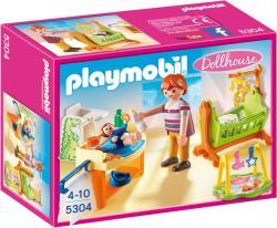 Playmobil Dollhouse - Babaszoba gyerekággyal (5304)