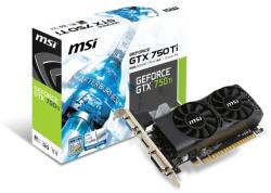 MSI GeForce GTX 750 Ti 2GB GDDR5 128bit PCIe (N750TI-2GD5TLP)