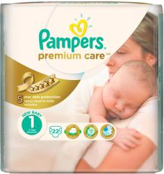 Pampers Premium Care 1 New Baby (2-5 kg) 22 buc