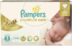 Pampers Premium Care 1 New Baby (2-5 kg) 108 buc